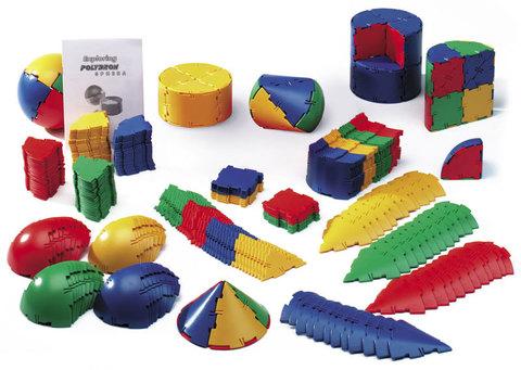 Набор ПОЛИДРОН Сфера по основам математики, конструирования и моделирования