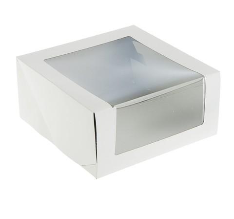 Коробка с окном 22,5*22,5*8,5см
