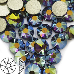 Стразы купить оптом Xirius 8+8 граней Amethyst AB фиолетовые