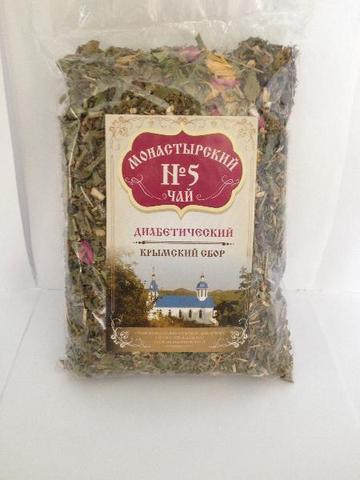 Чай Монастырский №5 диабетический, 100 гр. (Крымский сбор)