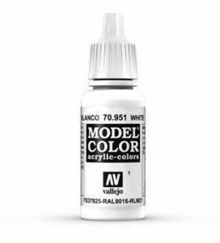 Model Color White 17 ml.