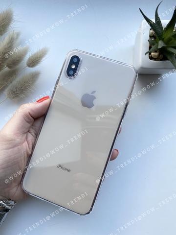Чехол iPhone  XS Max Simple silicone /transparent/ 444