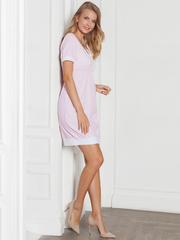 Vivamama. Платье домашнее Betty, розовая клетка вид 4