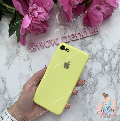 Чехол iPhone 7/8 Silicone Slim Case /flash/