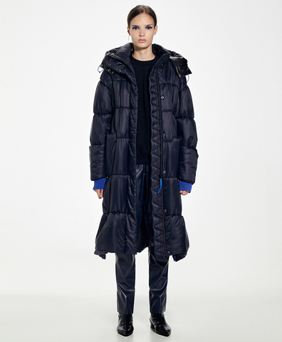 Зимнее пальто Ирма dark blue