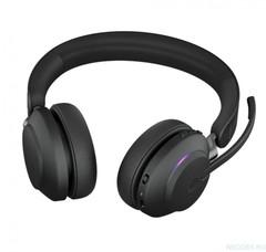 Jabra Evolve2 65 Stereo MS беспроводная гарнитура черная с док-станцией ( 26599-999-989 )