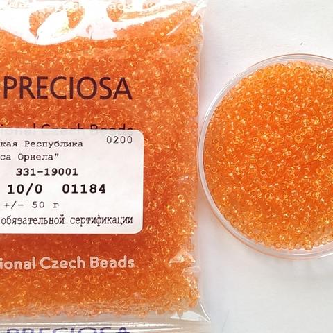 01184 Preciosa 10/0 50грамм (1 сорт)