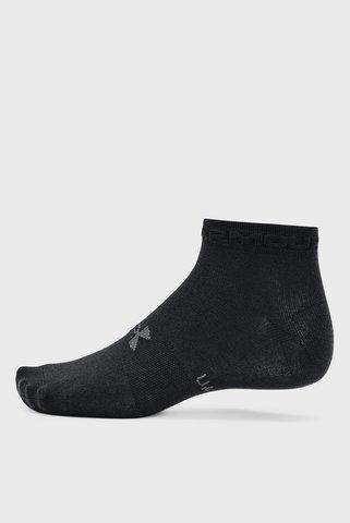 Черные носки UA Eential Low Cut (3 пары) Under Armour