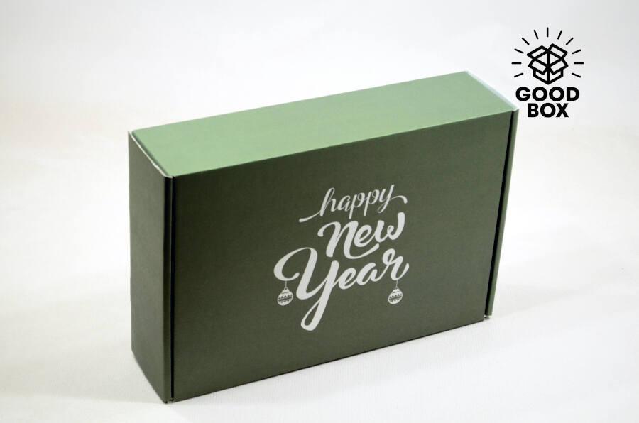 Новогодние коробки 2022 года купить в Алматы
