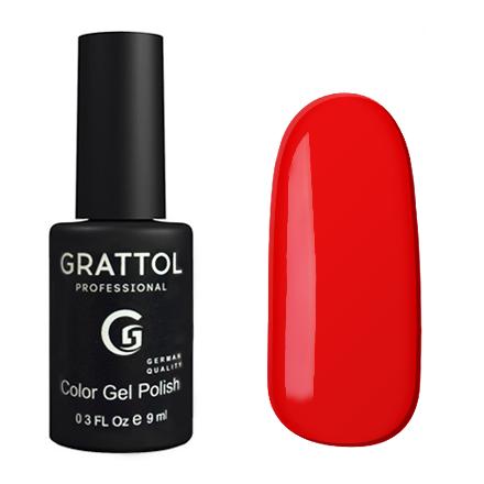 Гель-лак GRATTOL 084 Scarlet 9мл