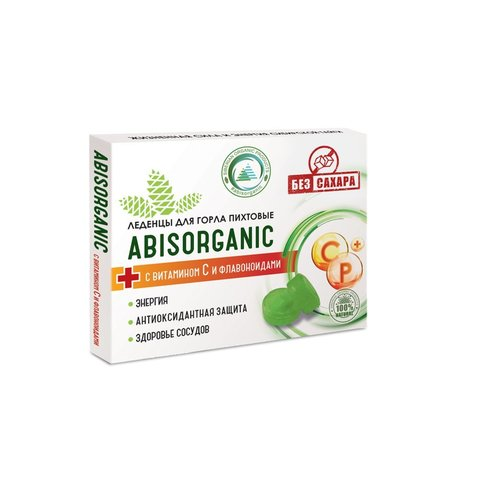 Abis organic lollipops with vitamin C and bioflavonoids WITHOUT sugar