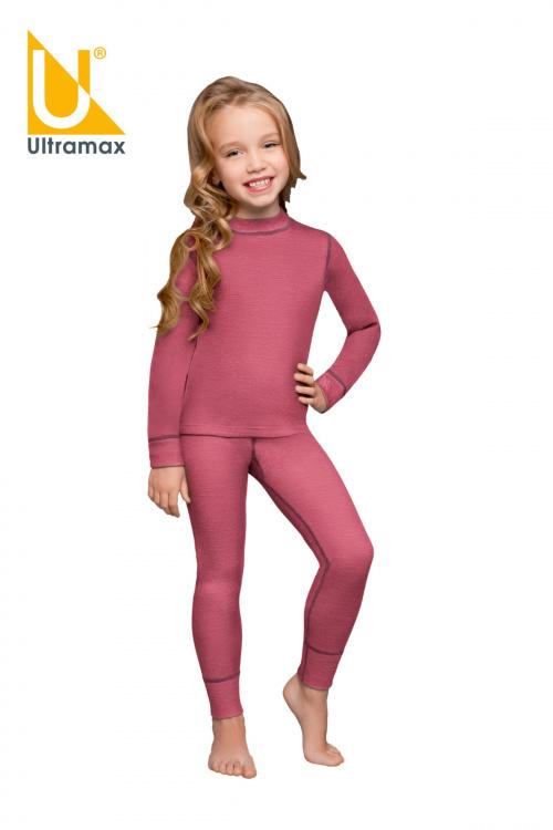 Комплект для девочки Ultramax Barracuda kids U5144-BERRY