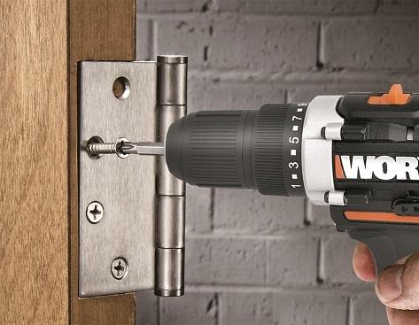 Шуруповерт аккумуляторный WORX WX128.3 12В - 2,0Ач х2, ЗУ 1,5А, кейс