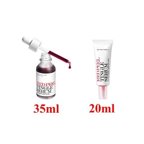 So Natural Red Peel Tingle Serum Кислотная сыворотка - пилинг для очищения лица(нужно смывать)