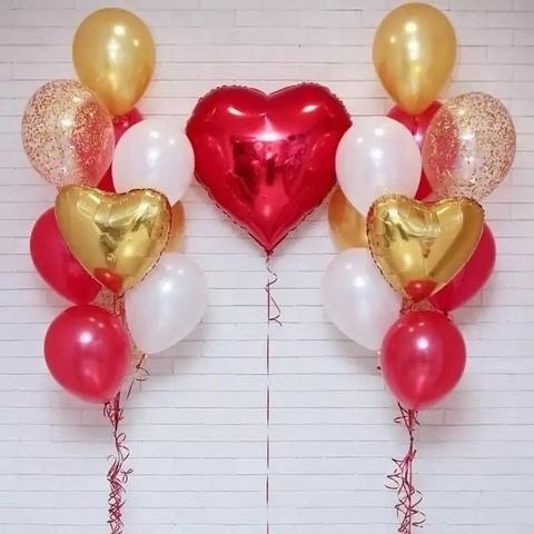 Сет воздушных шаров Для любимых