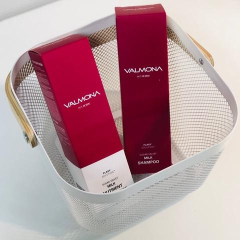Набор для увлажнения и оздоровления волос Valmona Sugar Velvet Milk