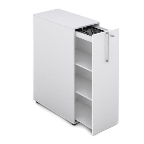 Шкаф с выдвижным ящиком высокий