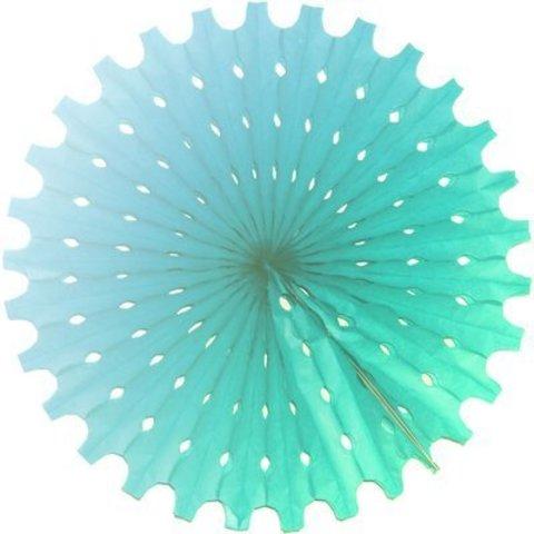 Фант бумажный голубой 40см/G