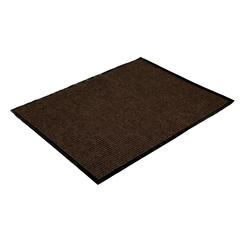 Коврик влаговпитывающий, ребристый, коричневый, 60*90 см