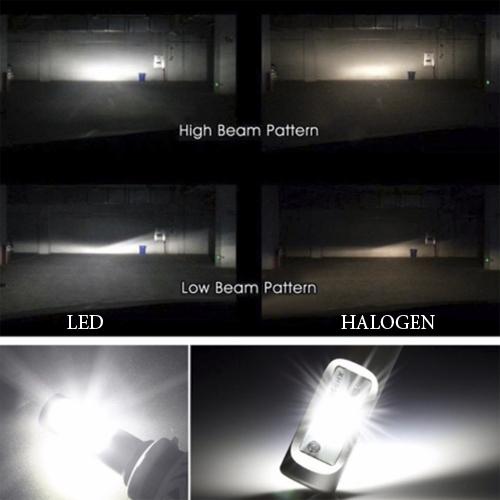 Светодиодные лампы H4 головного света серия G8 Aurora ALO-G8-H4-6000LM ALO-G8-H4-6000LM
