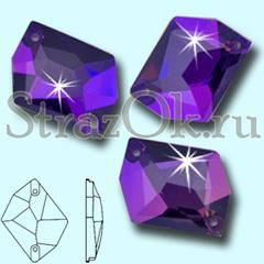 Купить стразы пришивные оптом Cosmic Purple Velvet фиолетовые в интернет-магазине