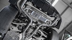Выхлопная система Capristo для Mercedes GLE 63 S