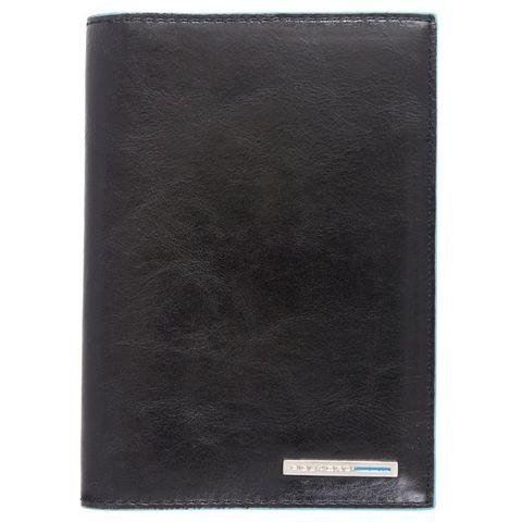 Обложка для документов Piquadro Blue Square (AS429B2/N) черный кожа