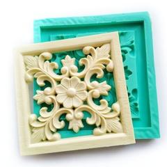 0581 Молд силиконовый Мебельная накладка (плитка)