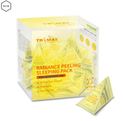 TRIMAY Обновляющая кожу ночная маска-пилинг Radiance Peeling Sleeping Pack, 3 мл.