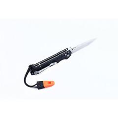 Складной нож Ganzo G7452P-WS (черный, оранжевый)