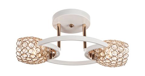 Потолочный светильник Escada 1100/2S Е27*60W White/Gold