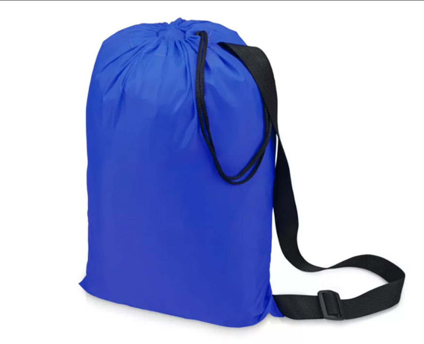 Надувной гамак (ламзак, биван) тёмно-синий Фото№2