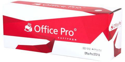 Картридж лазерный цветной Office Pro© 131A CF211A голубой (cyan), до 1800 стр. - купить в компании MAKtorg