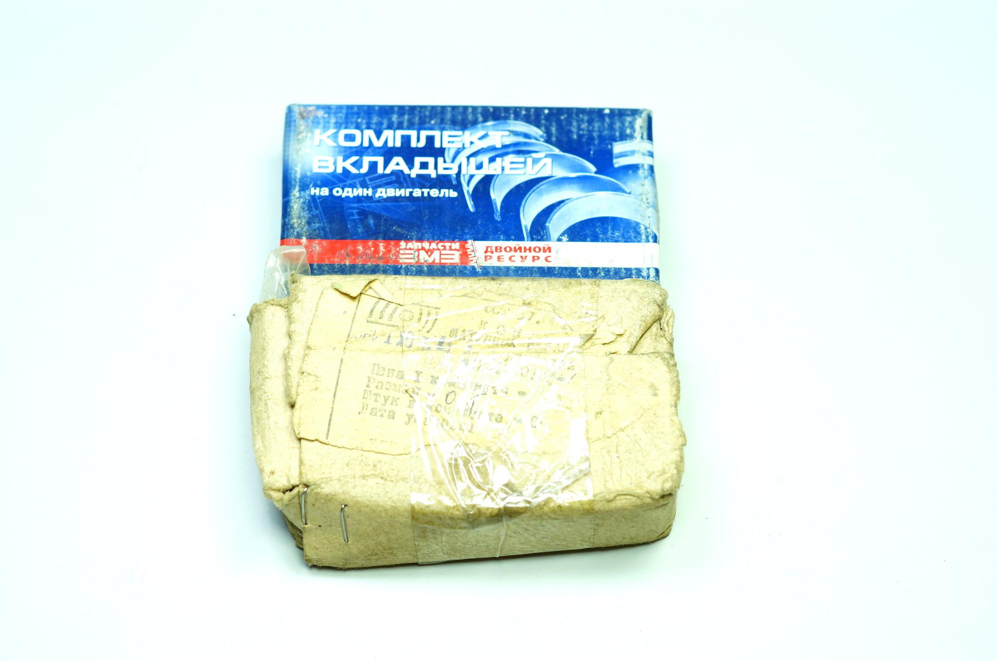 Вкладыши шатунные Москвич 412