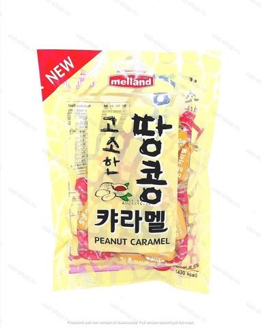 Карамель со вкусом арахиса Melland, Корея, 100 гр.
