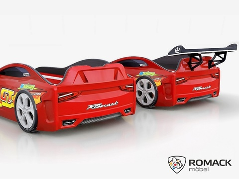 Кровать-машина Romack Dreamer-M Красная Молния