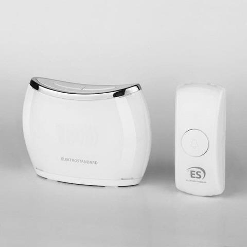 Звонок беспроводной. Цвет Белый. Elektrostandard. DBQ21M WL 32M IP44. a044641