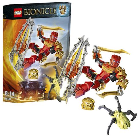 LEGO Bionicle: Таху – Повелитель Огня 70787 — Tahu Master of Fire — Лего Бионикл