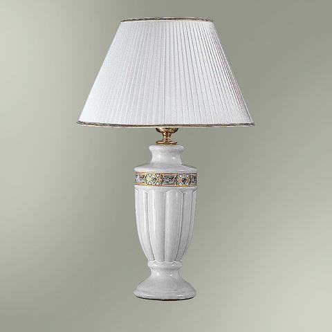Настольная лампа с абажуром 29-01.50/9663 НАДЕЖДА