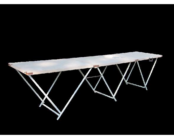 Торговый стол складной Митек 2,7х0,6
