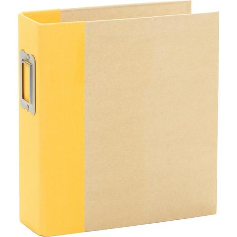 Альбом на кольцах 6х8in SN@P! (15х20см)- Yellow