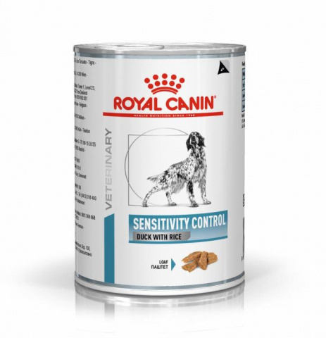 Корм Royal Canin Sensitivity Control Консервы для собак с пищевой непереносимостью с уткой 420 гр