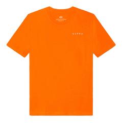 Футболка Alpha Industries Reflective Contract Orange (Оранжевая)