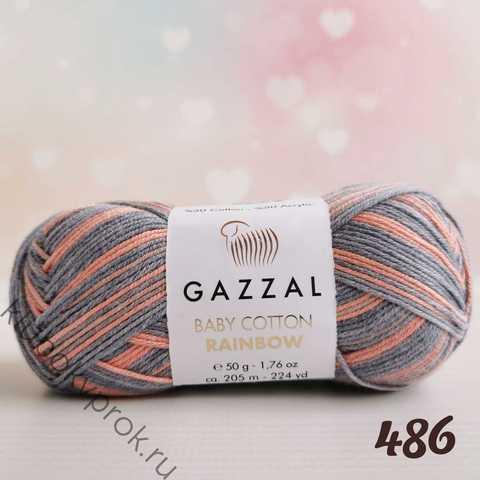 GAZZAL BABY COTTON RAINBOW 486,