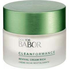 Doctor Babor Разглаживающий крем рич против первых морщин CLEANFORMANCE Revival Cream Rich
