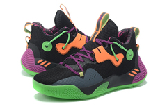 adidas Harden Bounce 'Black/Green/Purple/Orange'
