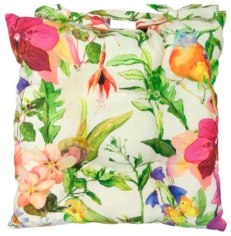 Подушка на стул Колибри
