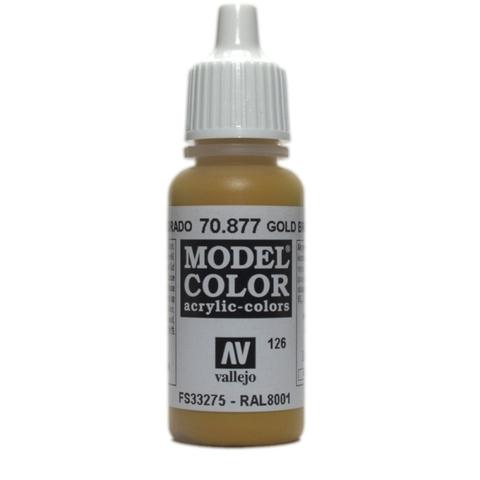 Model Color Goldbrown 17 ml.