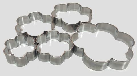 Набор форм для пряников и печенья, набор 5 шт, металл