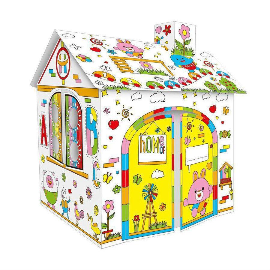 Детское творчество и хобби Дом-раскраска из картона Diy House Dooble dom-raskraska-iz-kartona-diy-house-dooble.jpg